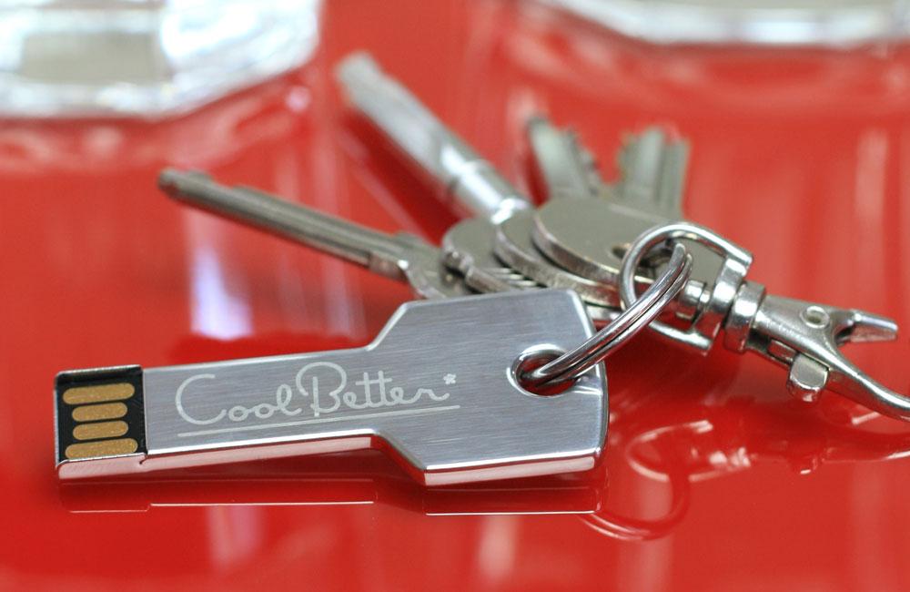 USB Stick Key mit Schlüsselanhänger
