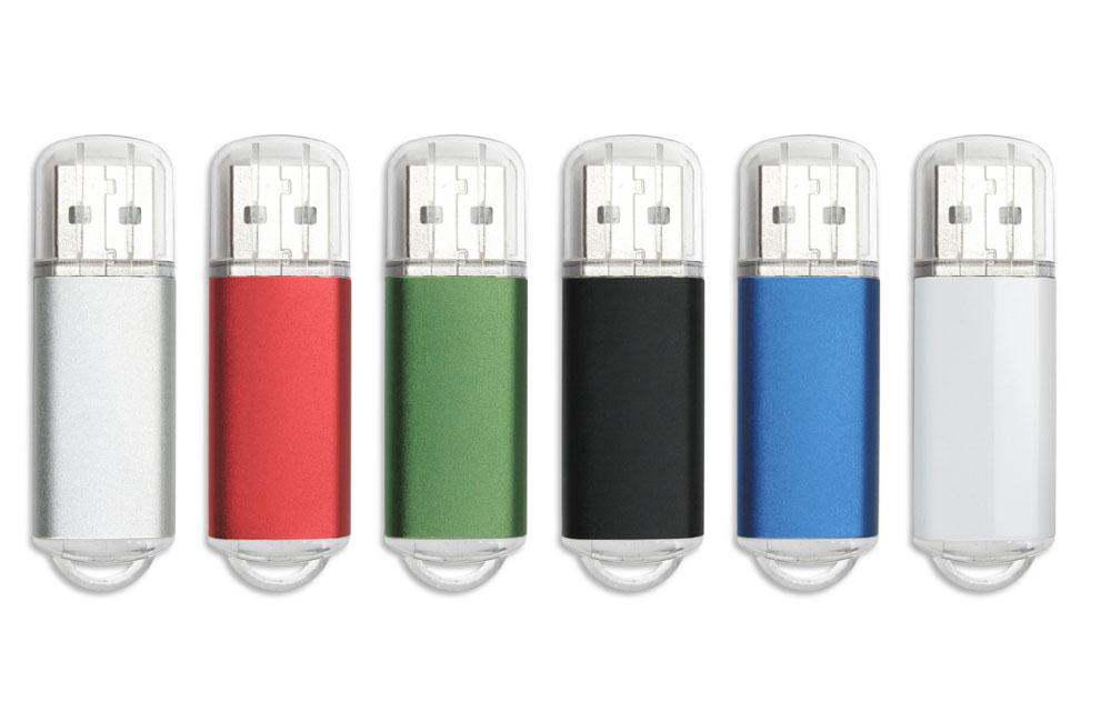 USB Stick Original in sechs Farben lieferbar