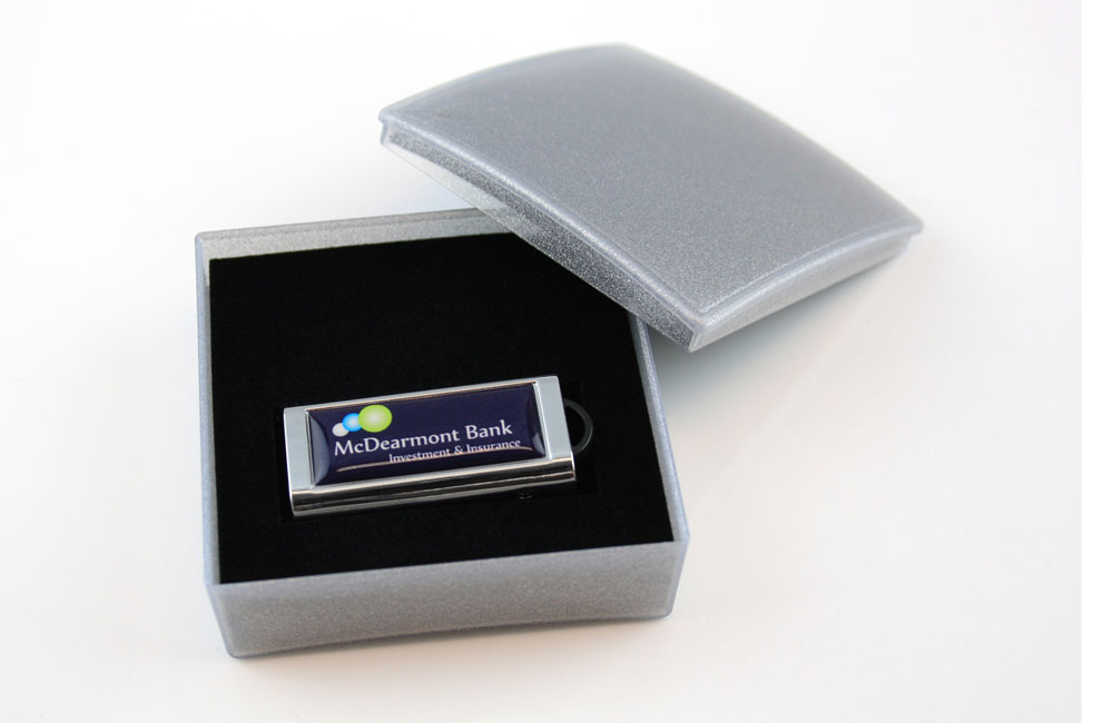 USB Stick Slide in Geschenkbox Classic