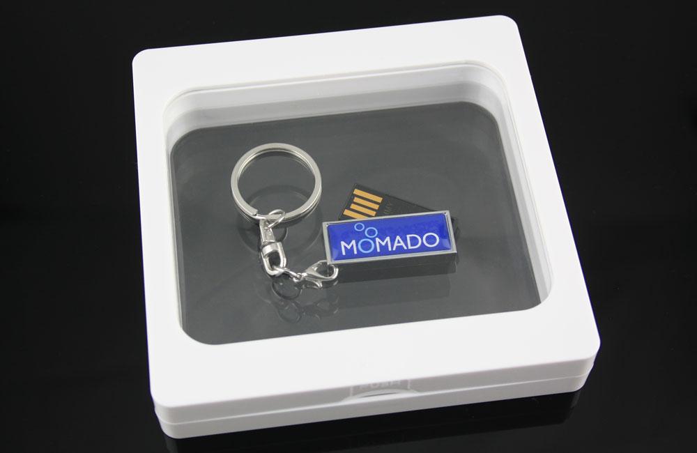 USB Stick Solid Twist mit Schlüsselanhänger in Framebox