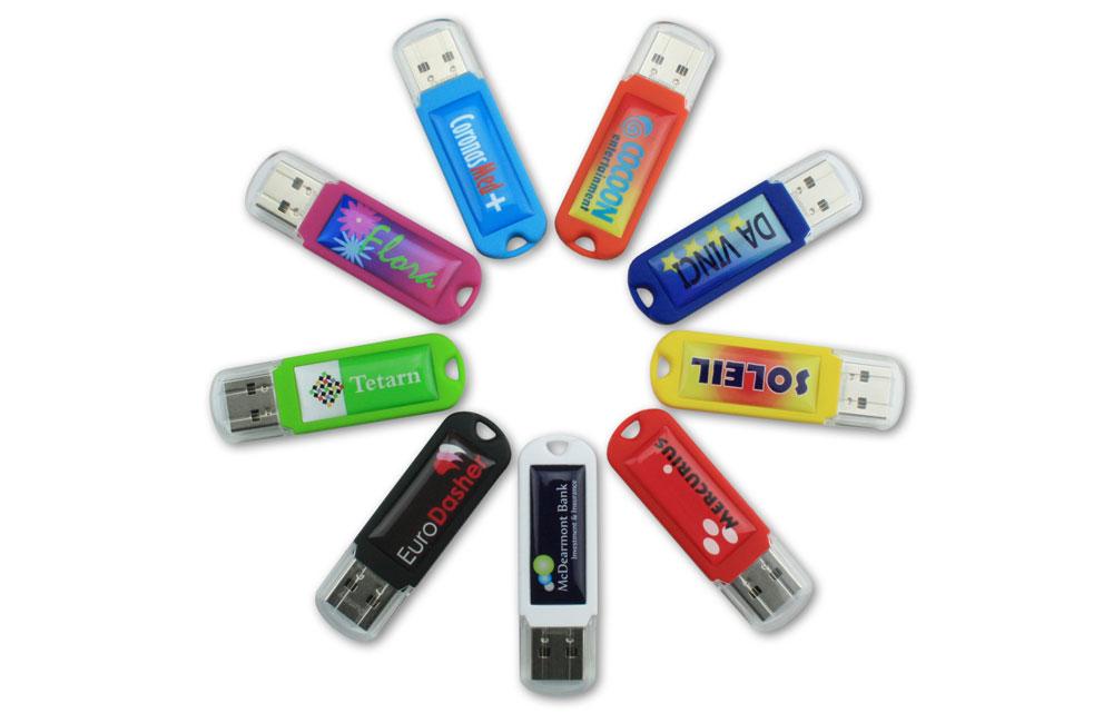 USB Stick Spectra 3.0 in neun attraktiven Farben lieferbar