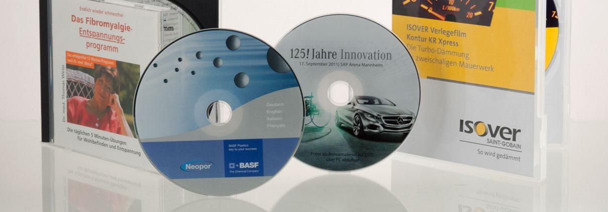 CD und DVD Pressung bereits ab 300 Stück - all-in Komplettservice- Top-Qualität zum günstigen Preis