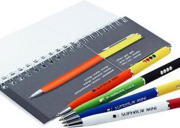 Werbekugelschreiber Superior Mini mit frei kombinierbaren Farben